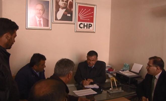 Bakan Yılmaz Chp İlçe Başkanlığını Ziyaret Ederek Eveti Anlattı