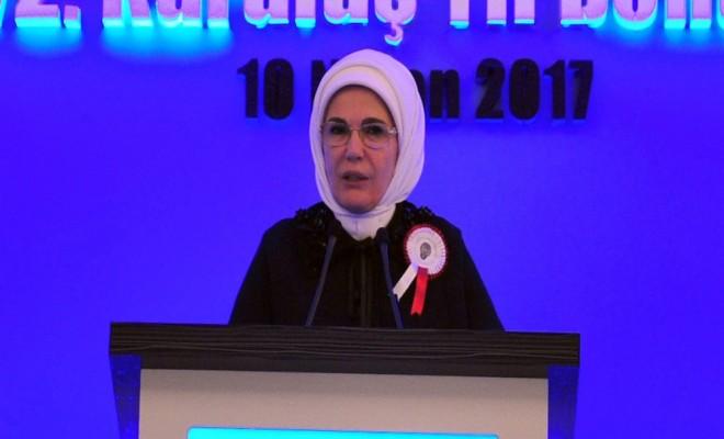 Emine Erdoğan: 16 Nisanı Milat Olarak Görüyorum