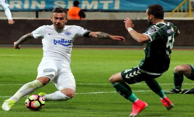Kasımpaşa İle Konyaspor Puanları Paylaştı