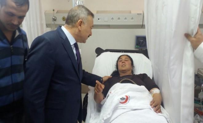 Ak Partililere Taşlı Saldırı: 5 Yaralı