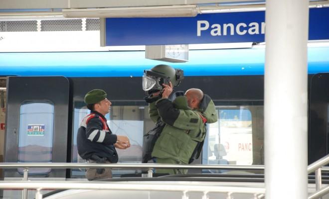 Trende Bomba İhbarı: Yolcular Tahliye Edildi