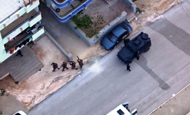 Pkk/kckya Dronelu Operasyon: 11 Gözaltı