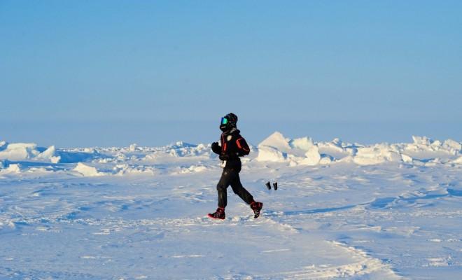 Kutuplarda Maraton Koşan İlk Türk Atlet Oldu