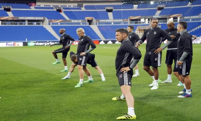 Beşiktaş Lyon Hazırlıklarını Tamamladı