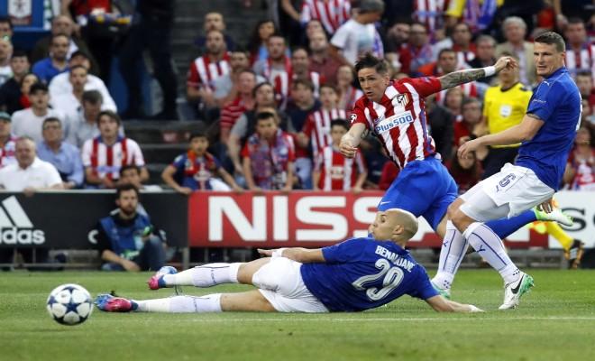 Atletico Madrid, Sahasında Leicester Cityi Mağlup Etti