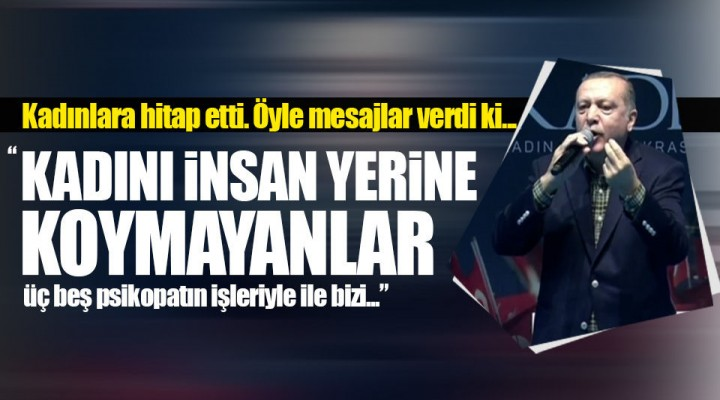 Cumhurbaşkanı Recep Tayyip Erdoğan KADEM'in Düzenlediği Toplantıda Konuşuyor!