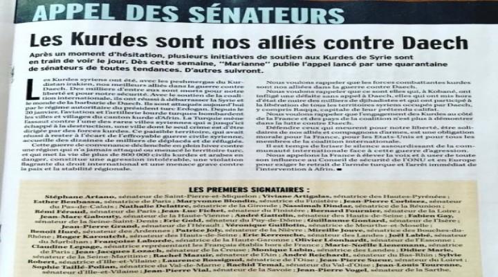 Fransız siyasetinde Türk ordusu durdurulsun girişimi