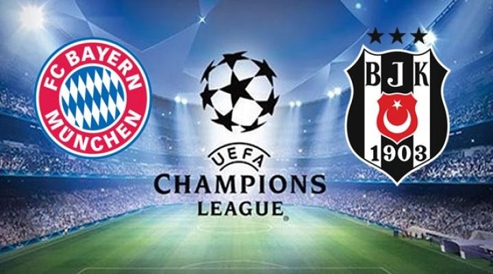 Bayern Münih - Beşiktaş UEFA Şampiyonlar Ligi maçı ne zaman, saat kaçta, hangi kanalda yayınlanacak
