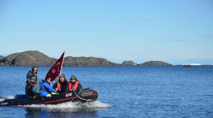 Türk Bilim Adamları Antartikada