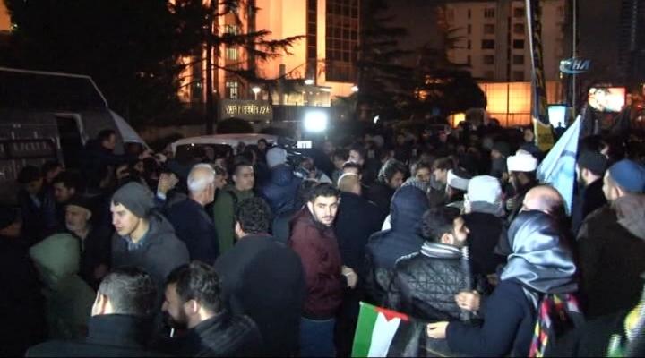 Erbakan Vakfından İsraile Ezan Protestosu