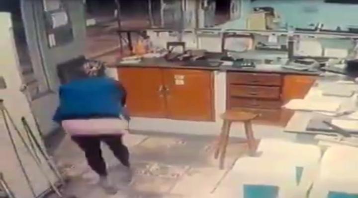 Soygun Kadın Polise Takıldı
