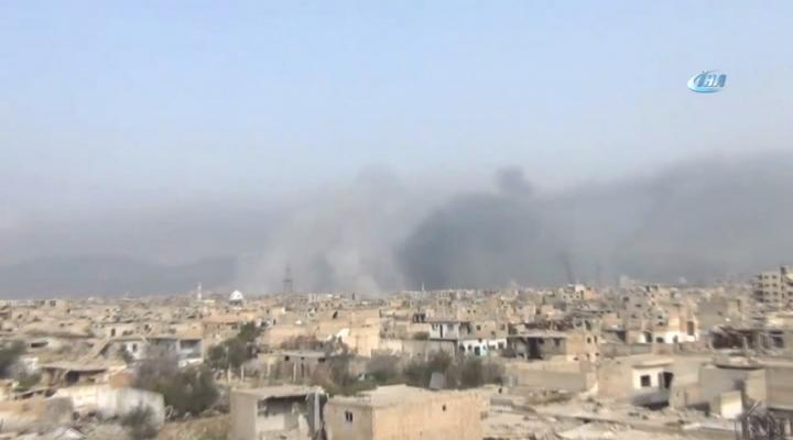 Öso, Şamda İki Mahallede Kontrolü Sağladı