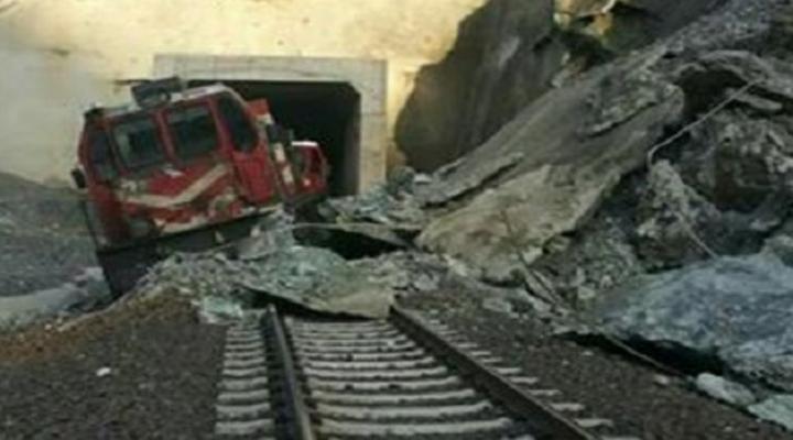 Elazığda Tren Raydan Çıktı