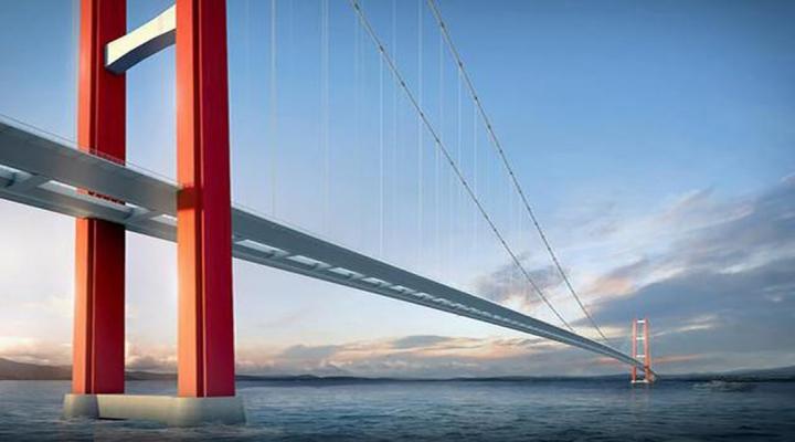 Türkiyeden İlk 10A Girecek Üçüncü Asma Köprü Olacak