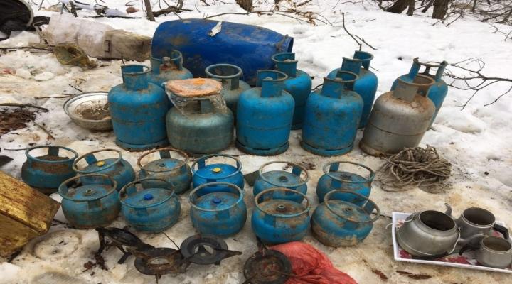 Bingölde Teröristlerin 5 Sığınağı Daha Ele Geçirildi