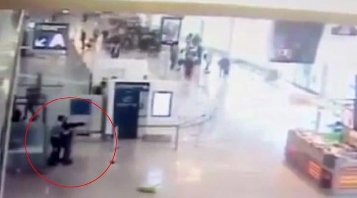 Havalimanı Saldırısı Kamerada