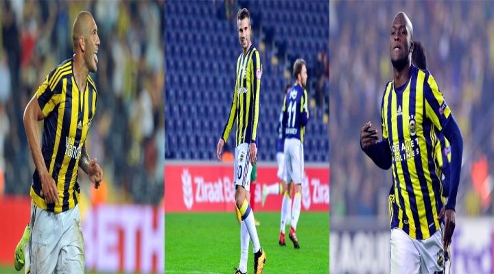 Fenerbahçede Forvetler Sustu