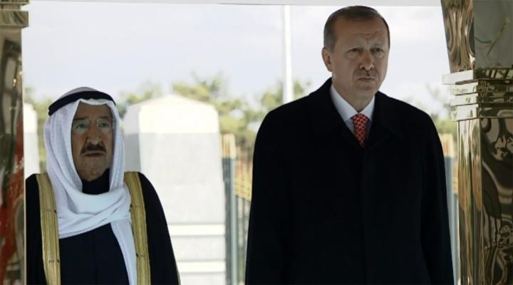 Erdoğan Kuveyt Emiri Sabahı Törenle Karşıladı