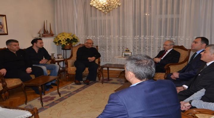 Kılıçdaroğlundan Talipoğlu Ailesine Taziye Ziyareti