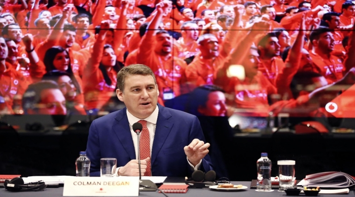 Vodafone Ceosu Deegan: Türkiyeye Güveniyoruz