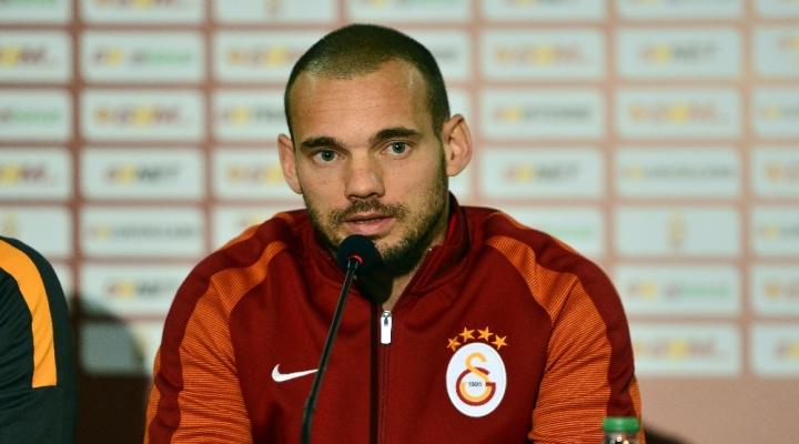 Sneijder: Türkiyeden Ayrılmayı…