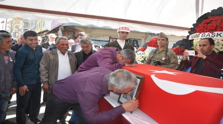 Osmaniye Şehidini Gözyaşlarıyla Uğurladı