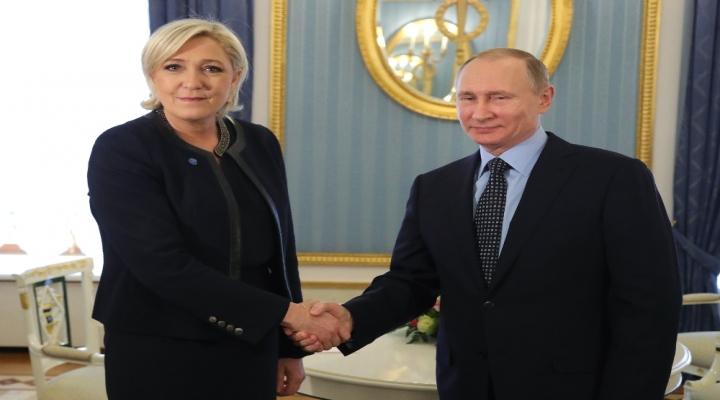Marine Le Pen, Putin İle Görüştü