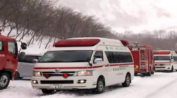 Japonyada Çığ Faciası: 8 Ölü