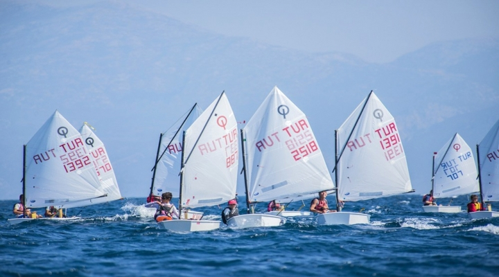 Yelkenin Şampiyonları Çeşmede Belli Oluyor