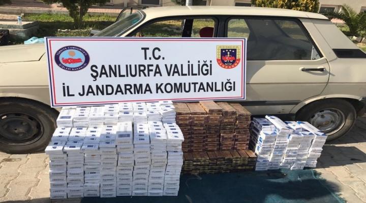 Şanlıurfada Kaçak Sigara Operasyonu: 10 Gözaltı