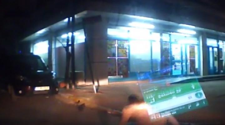Çarptıkları Otomobilin Üzerinden Uçtular