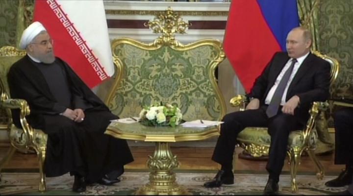 Putin, Ruhani Bir Araya Geldi