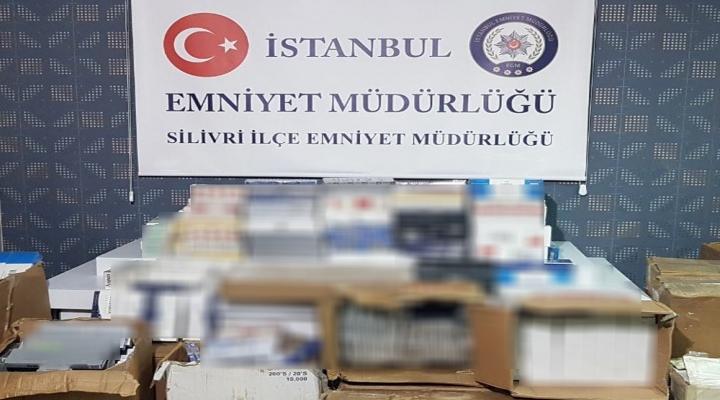 İstanbulda Kaçak Sigara Operasyonu Kamerada