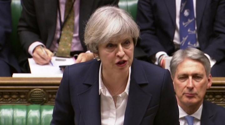 İngiltere Başbakanı Mayden Abye Veda Konuşması