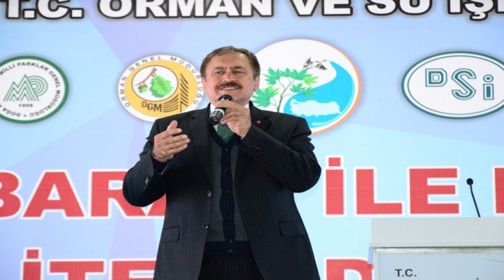 Bakan Eroğlu 390 Milyon Tl Değerindeki Tesislerin Temelini Attı