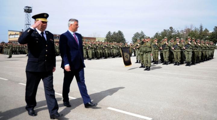 Kosova Cumhurbaşkanı Thaçiden Geri Adım