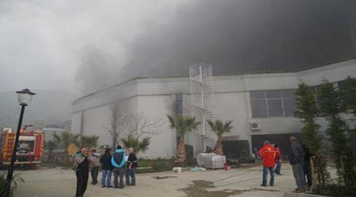 5 Yıldızlı Oteldeki Yangın Söndürüldü
