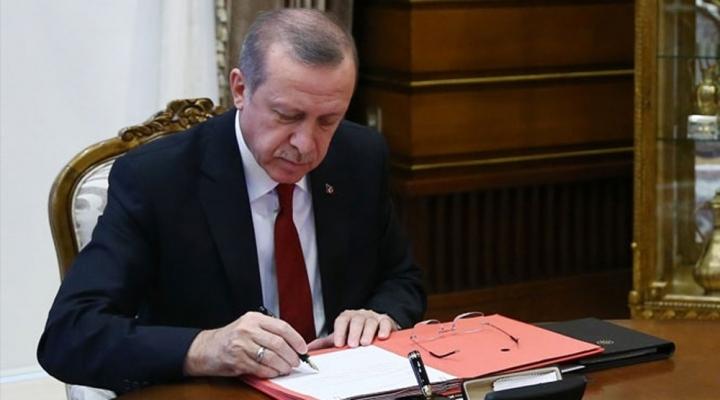 Cumhurbaşkanı Erdoğandan 15 Kanuna Onay
