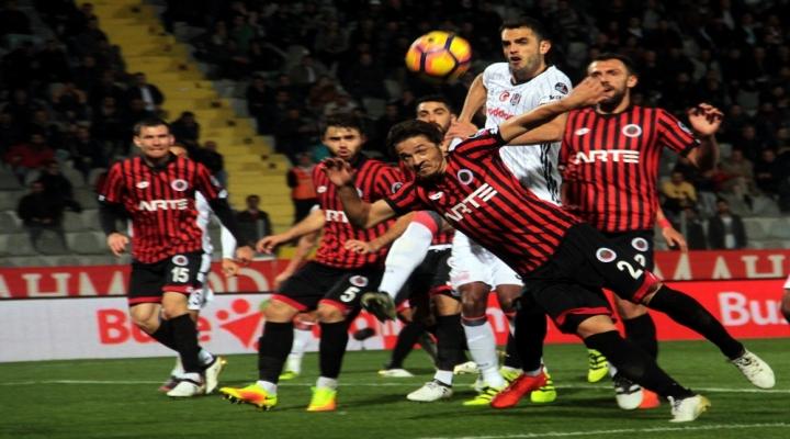 Beşiktaş Gençlerbirliği Karşısında Üstün