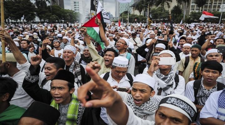 Müslümanlardan Kurana Hakaret Potestosu