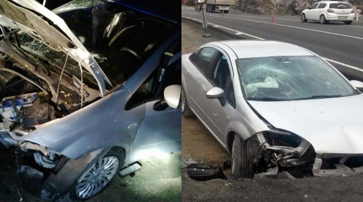 Sürücü Yol Çalışmasını Fark Edemedi: 2 Ölü, 3 Yaralı
