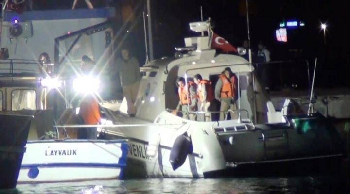Ava Çıkan Teknede Faciadan Dönüldü