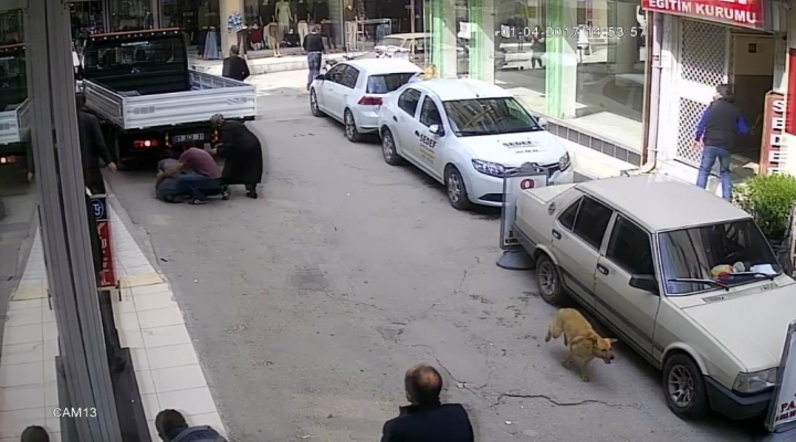 Polis-Torbacı Kovalamacası Kamerada