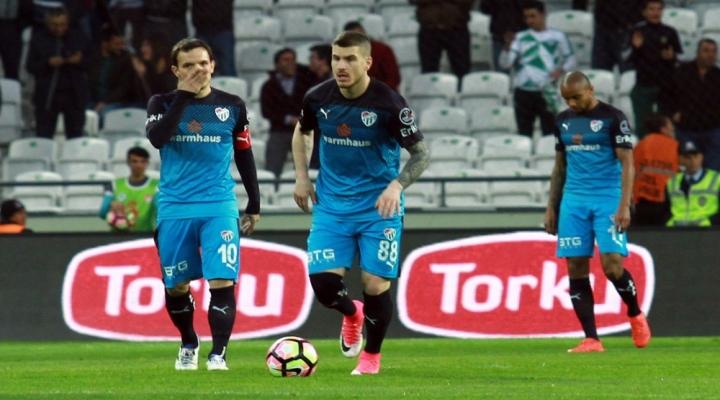 Bursaspor Dip Yaptı