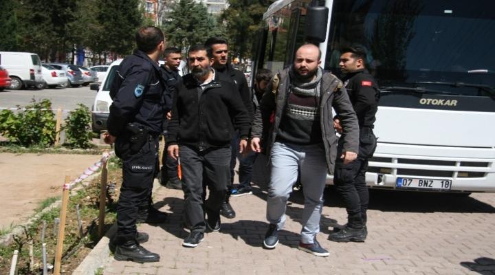 Antalyada Dhkp-C Operasyonu: 10 Gözaltı
