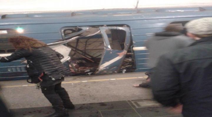 Rusyada Metroda Patlama