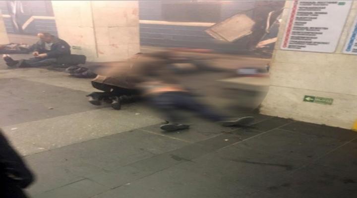 Rusyada Metroda Patlama: 10 Ölü
