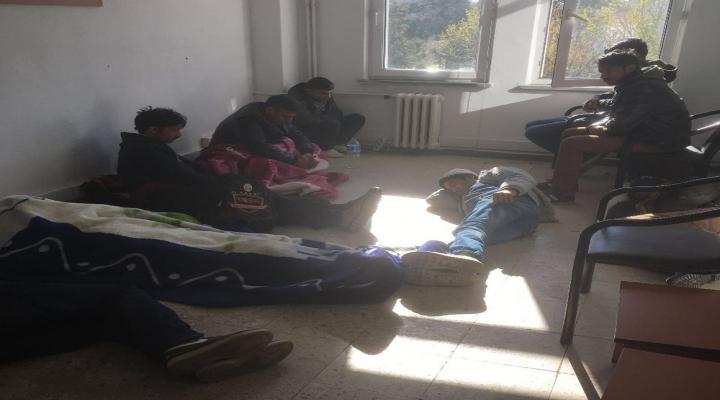 Edirnede 32 Kaçak Göçmen Yakalandı