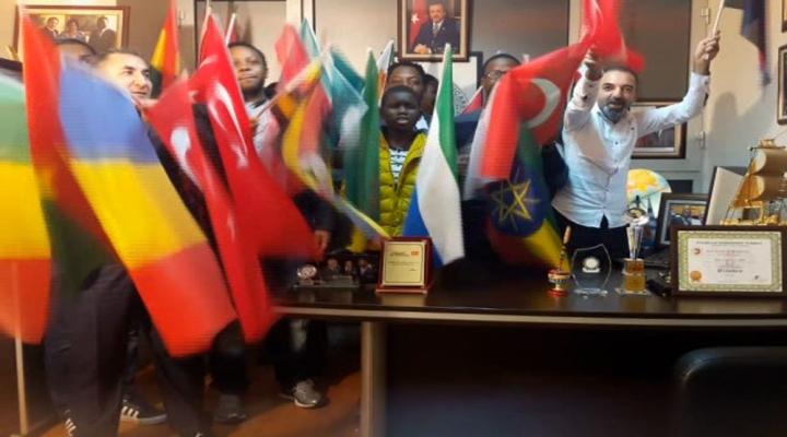 Afrikadan Evet Kampanyasına Destek