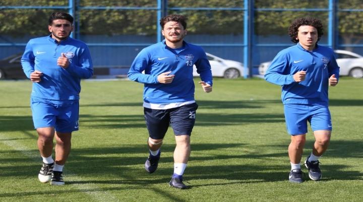 Adana Demirspor Ara Vermeden Hazırlıklara Başladı